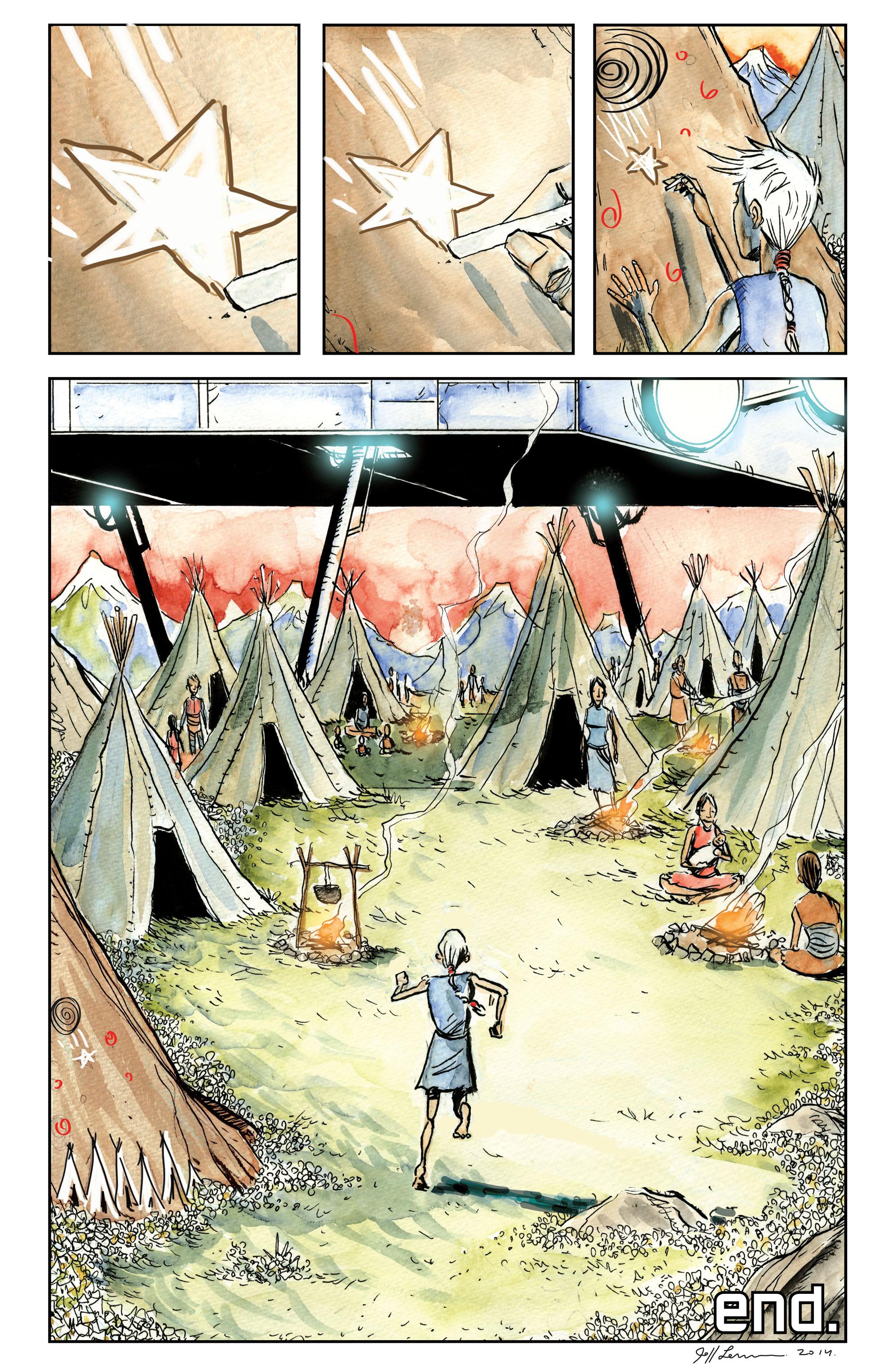 Read online Trillium comic -  Issue # TPB - 204