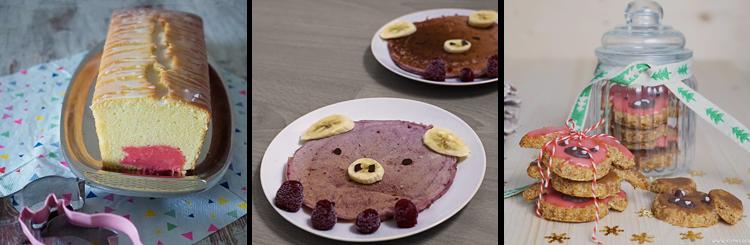 KuneCoco • Rezepte • Schweine-Zitronenkuchen • Himbeer-Pigcakes • Zimtschweine