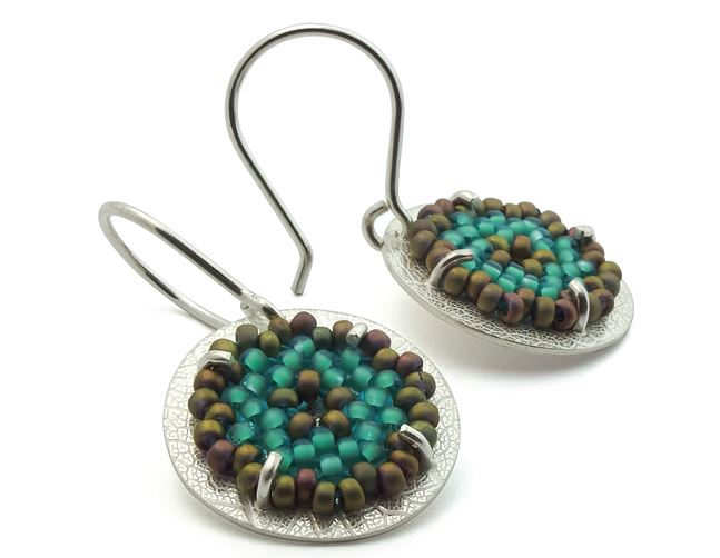 Bead And Metal Work Jewelry By Claudia Fajardo The