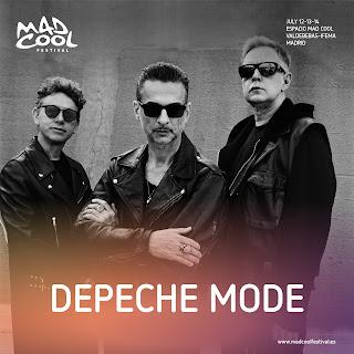 Depeche mode MAD COOL FESTIVAL 2018