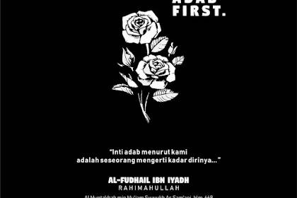 Adab First.