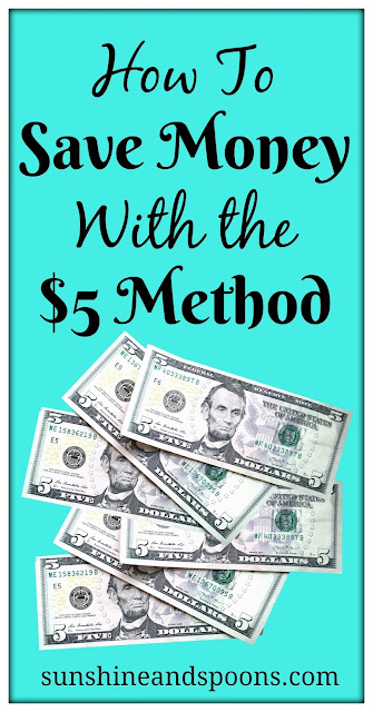 How To Save Money With the $5 Method