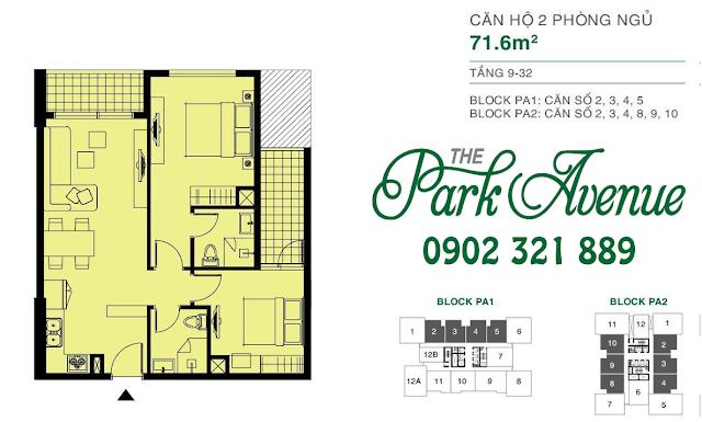 bán căn hộ park avenue