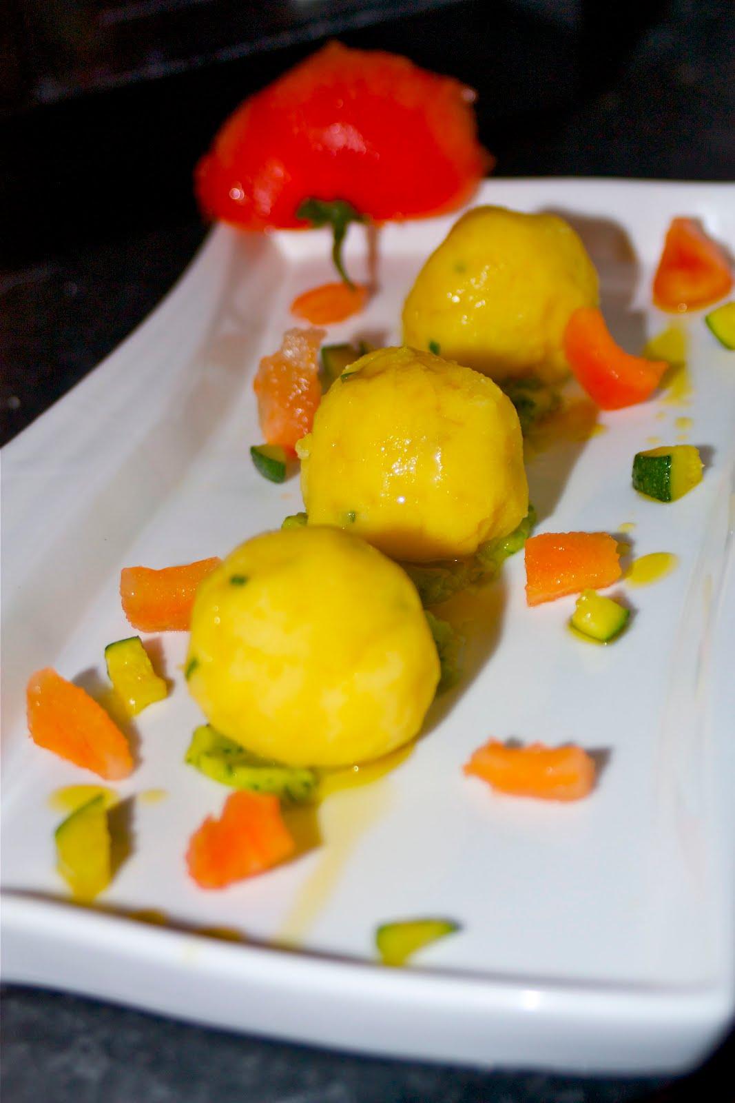 In cucina con Roberta Gnocchi di patate farciti con burrata