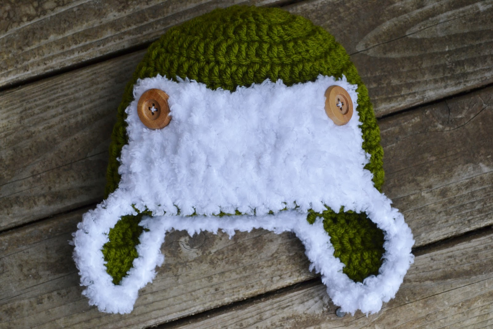 The Sequin Turtle  Naptime  Day 10 - Free Crochet Baby Aviator Hat ... 48d72a9fd897
