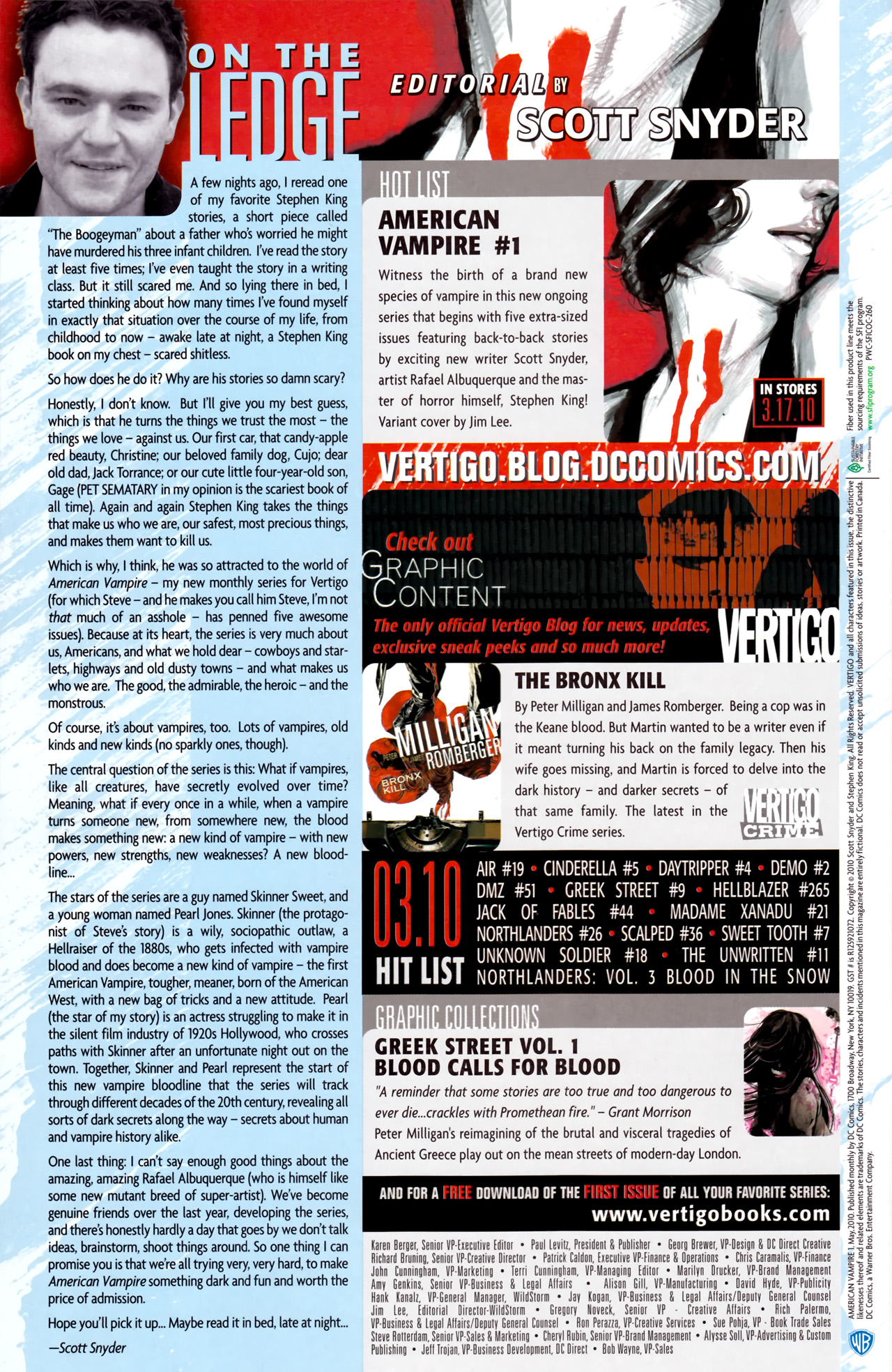 Read online American Vampire comic -  Issue #1 - 35