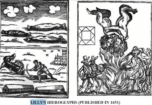 predicciones william lilly, astrología horaria y fundamentos,  marte en géminis, incendio Londres Carta astrológica, astrológo William Lilly