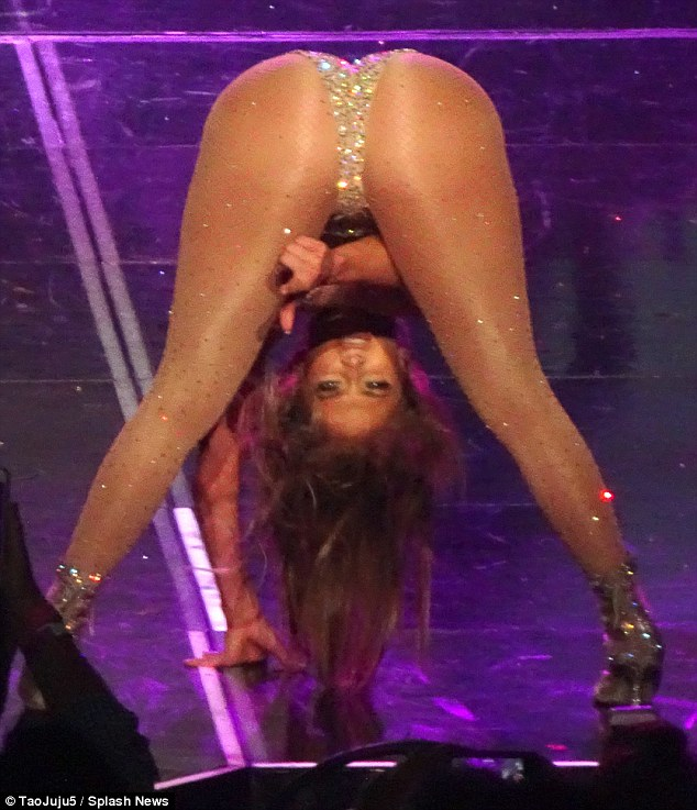 Jennifer Lopez puts on a very raunchy performance as she resumes Vegas residency