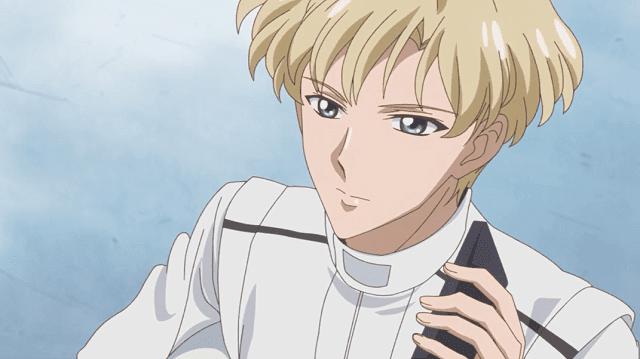 Tenou yang cowok banget seketika jadi feminim ketika berubah jadi Sailor Uranus