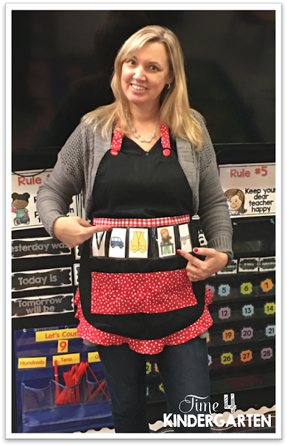 Show and Tell Teaching Apron