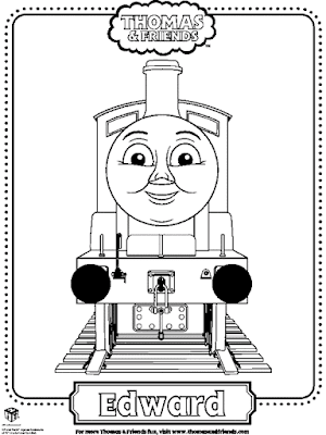 Gambar Mewarnai Thomas and Friends - 25