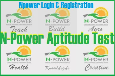 NPower Assessment Test Portal | Login N-Power Agro Tech Health Build (Testing 2017)