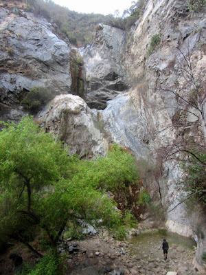 Fish Canyon Falls, Angeles National Forest, July 18, 2015
