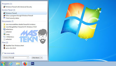 cara mematikan firewall di windows 7 2