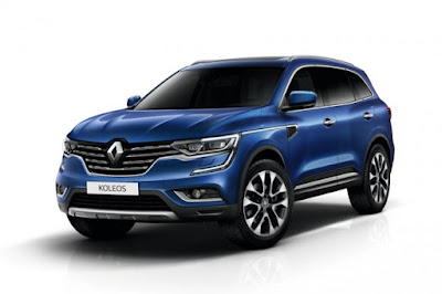 New 2017 Renault Koleos Facelift  second-gen Hd Photos 01