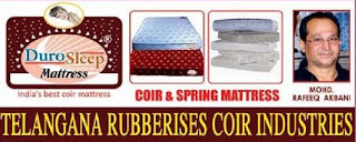 Telangana Rubberised Coir Industry