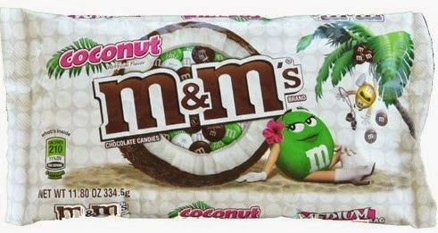 M&Ms coconut