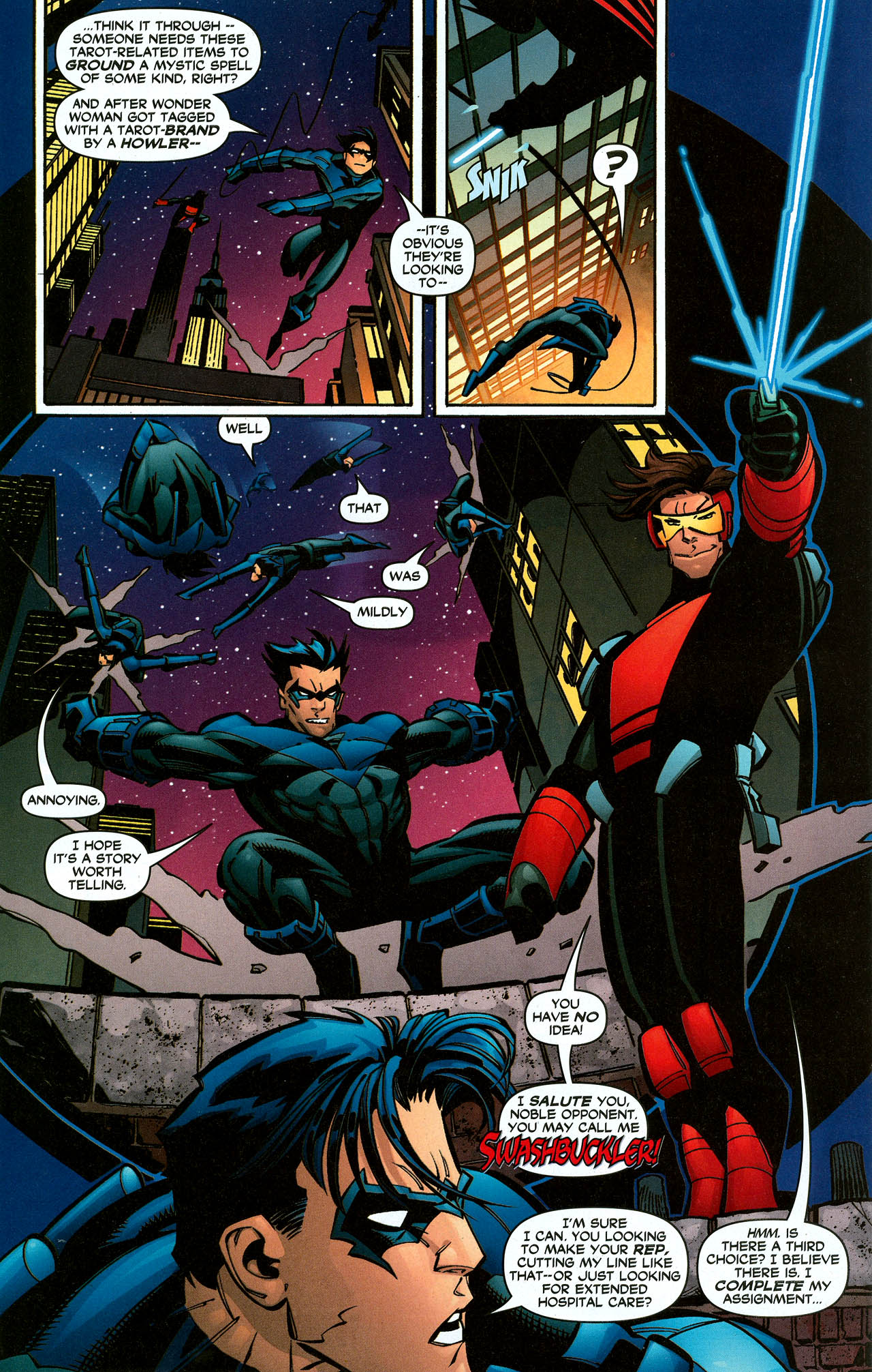 Read online Trinity (2008) comic -  Issue #9 - 23