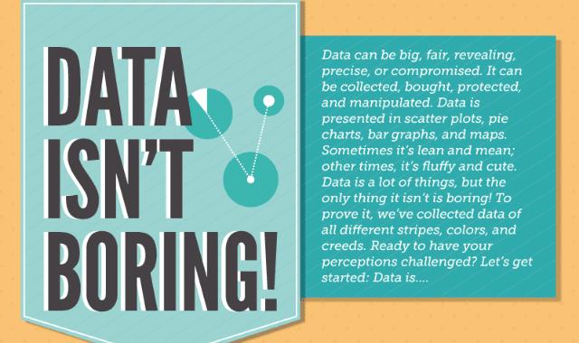 Data Isn't Boring