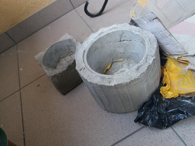 doniczka z betonu ile cementu