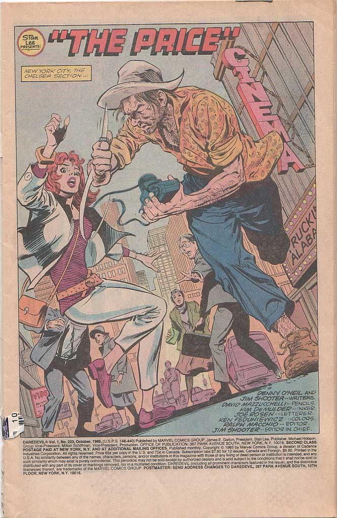 Daredevil (1964) 223 Page 1