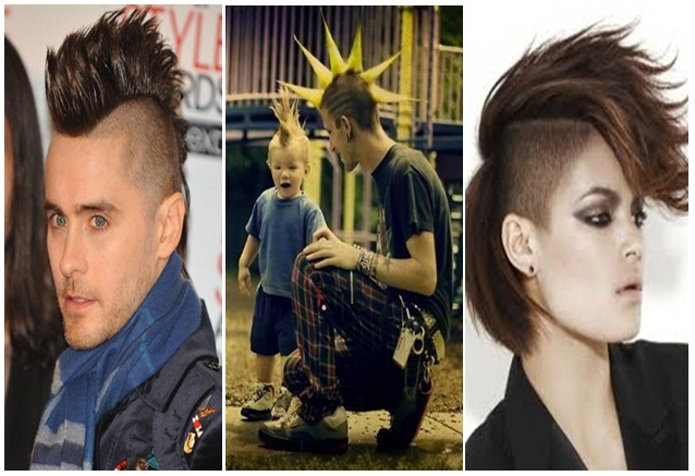 38+ Model Rambut Segi Punk Rock, Model Baru!