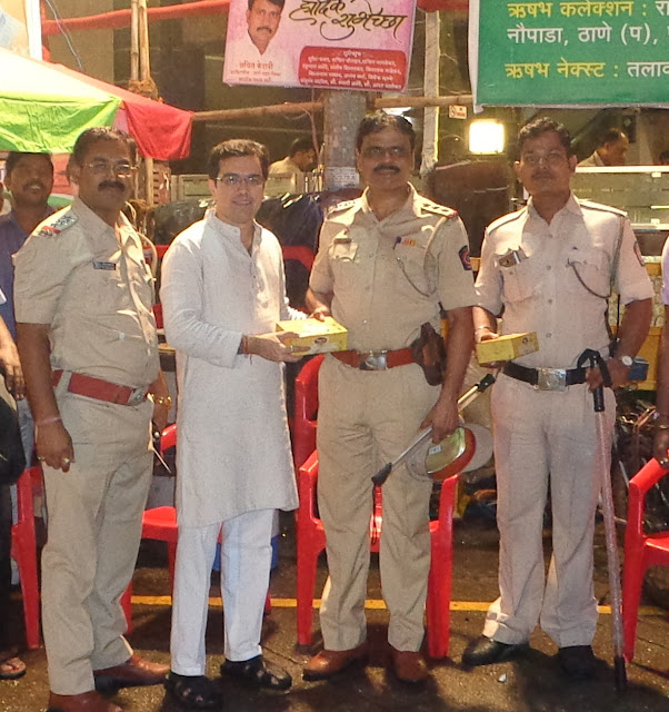 DHARMAVEER ANAND DIGHE YUVA PRATISHTHAN APPLAUDS MAHARASHTRA POLICE FOR WORKING RELENTLESSLY DURING GANESH VISARJAN