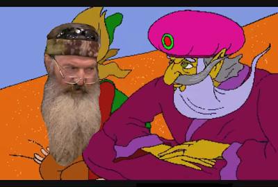 Phil Robertson Gwonam Duck Dynasty The Legend of Zelda Faces of Evil flying carpet
