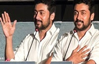 """SURIYA PROMISES ON STAGE: """"I will try to be responsible in my upcoming films"""" 