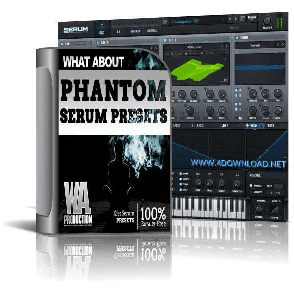 W. A. Production - Phantom Serum Presets