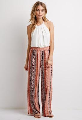 Pantalones a Rayas para Mujeres