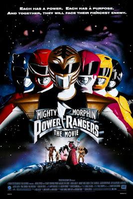 Power Rangers O Filme 1995 Pôster