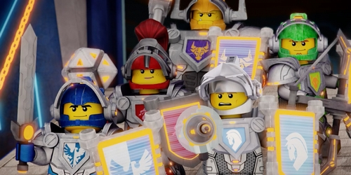Febrero En Cartoon Network Estreno De Lego Nexo Knights Anime