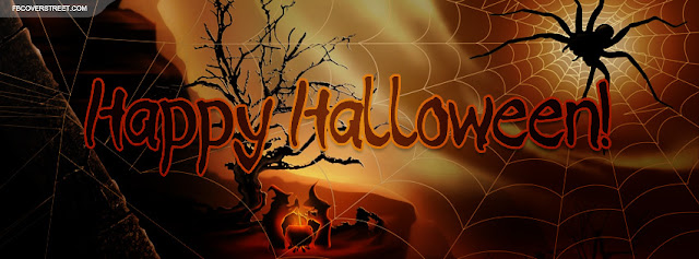 Free happy halloween 2017 facebook timeline covers and profile picture