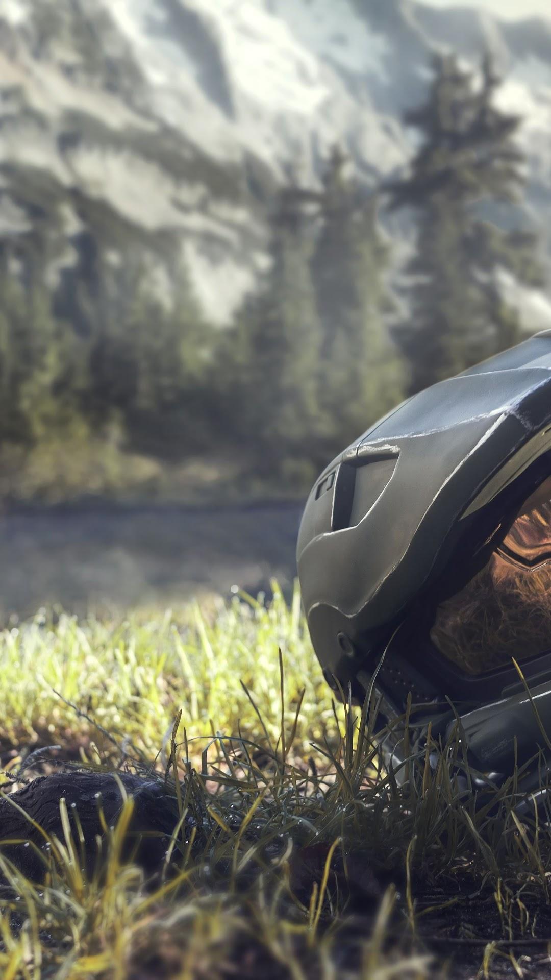 Halo Infinite Master Chief Helmet 8k Wallpaper 11