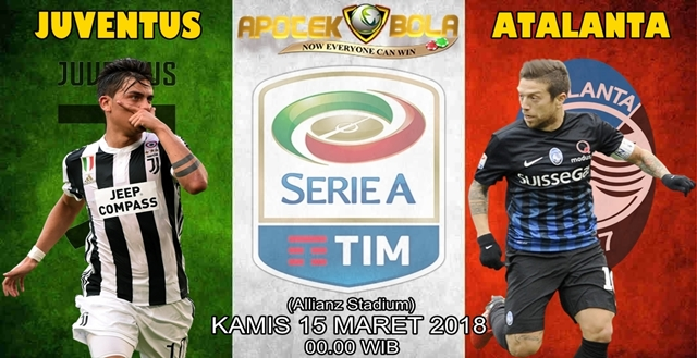 Prediksi Juventus vs Atalanta 15 Maret 2018