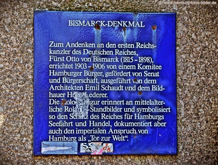 Bismarck Denkmal Information