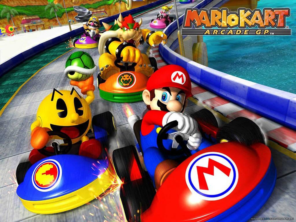 Mario Kart 7 Game - Wallpapers