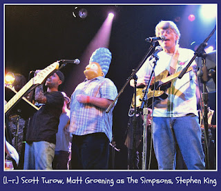 Rock Bottom Remainders: Scott Turow, Matt Groening, Stephen King