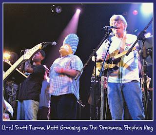 Rock Bottom Remainders: Scott Turow, Matt Groening, Stephen King