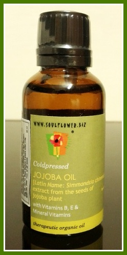 Jojoba oil treatment natural serum for colored hair damaged and brittle hair