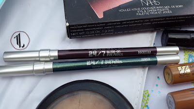Urban Decay 24/7 Glide-On Eye Pencils 'Junkie' and 'Rockstar' - www.modenmakeup.com