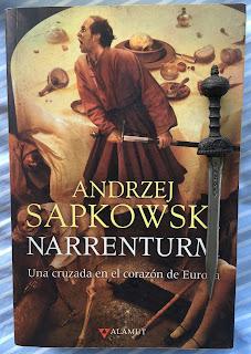 Portada del libro Narrenturm, de Andrzej Sapkowski