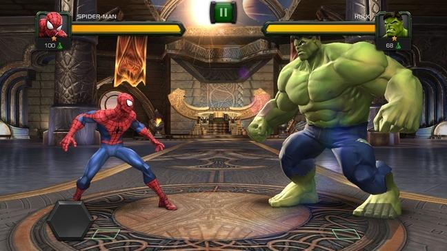 game super hero marvel