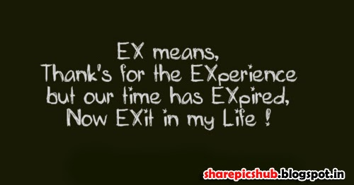 Ex Girlfriends Quotes Images: Ex-Girlfriend Quote In English