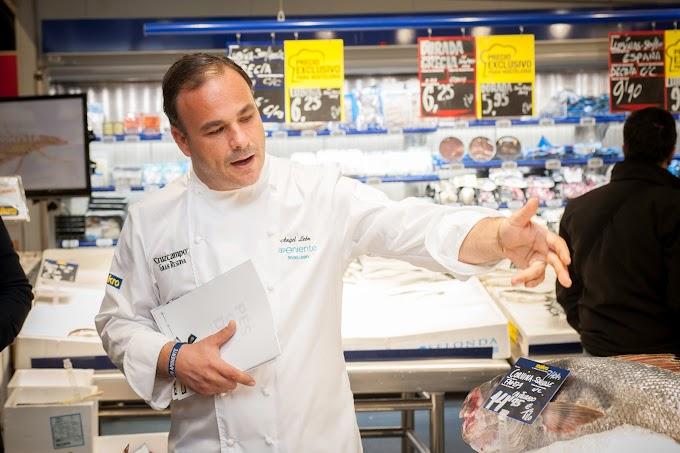 El chef y asesor de Makro,  Ángel León, apoya la pesca tradicional española