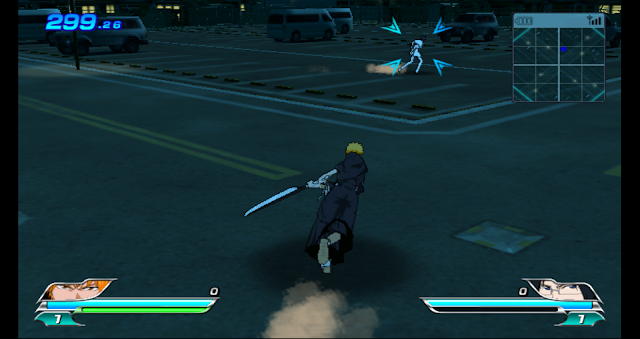 Gameplay from Bleach: Versus Crusade, playing as the character Ichigo