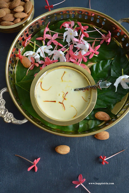 Badam Kheer Recipe | Almond Payasam