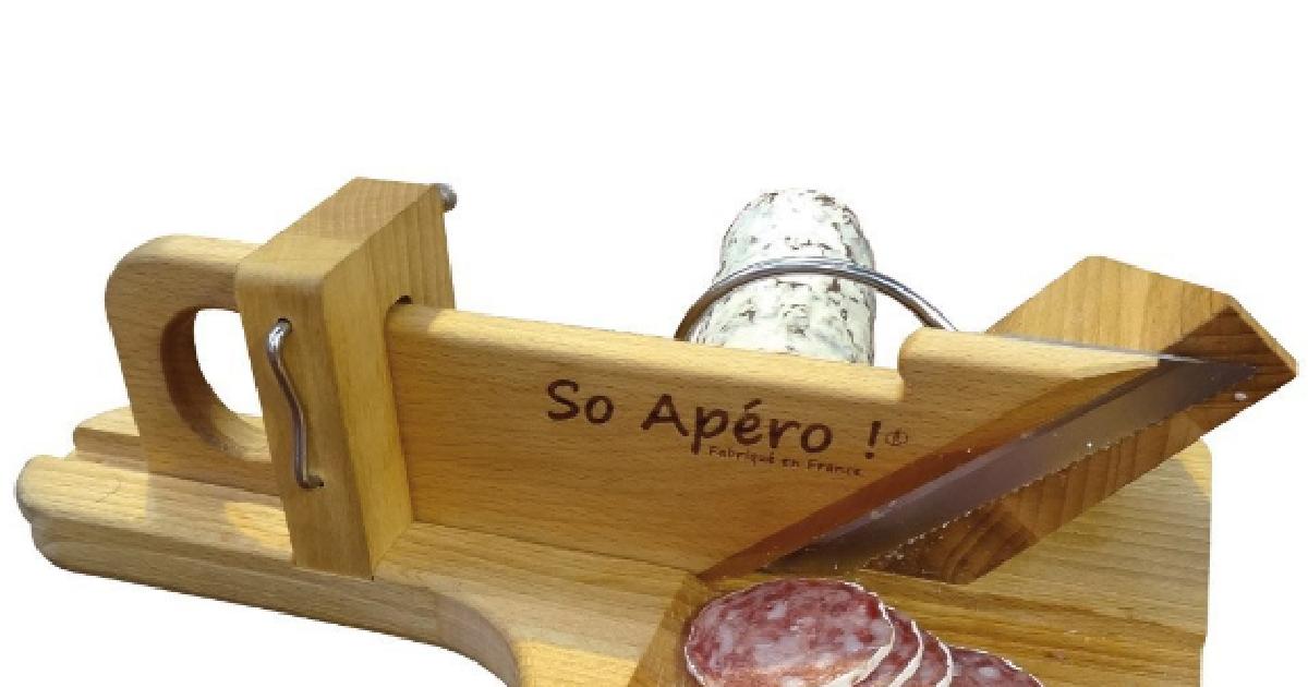 Guillotine à saucisson So Apéro pas cher à prix Auchan