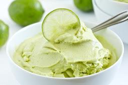 Key Lime Avocado Vegan Ice Cream #desserts #cakerecipe